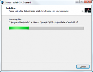 Scilab on Windows - Installing
