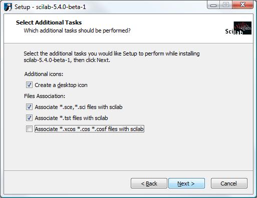 scilab windows 7 64 bits
