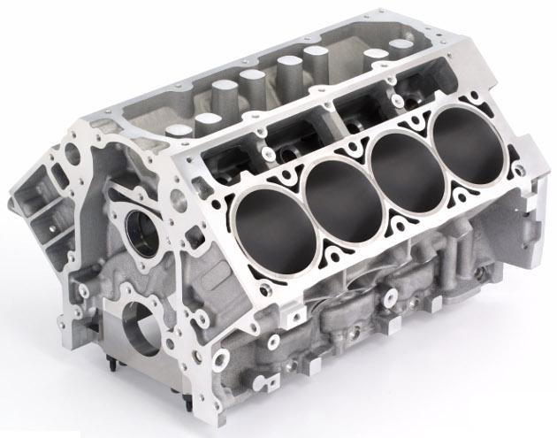 7.0L V-8 (LS7) Chevrolet Corvette engine block