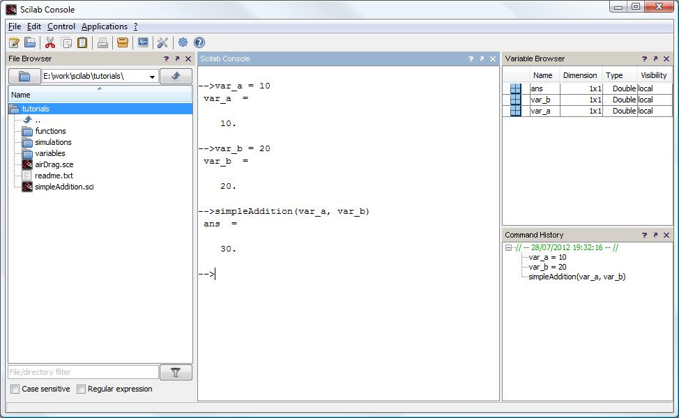 scilab 64 bit