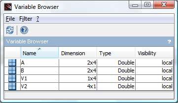 Editing vectors and matrices in Scilab – x-engineer org