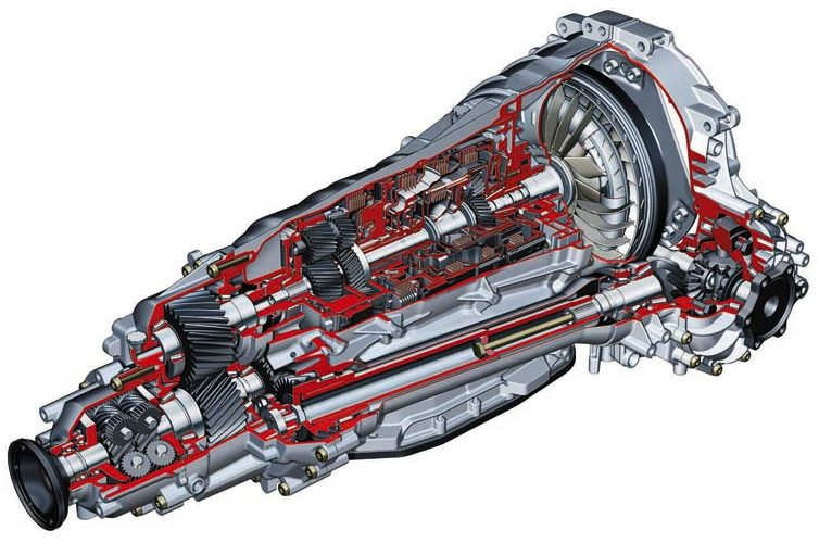 audi automatic transmission with torsen center differential