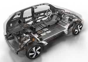 BMW i3 anatomy