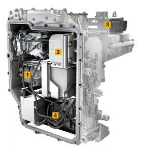 Renault Zoe power electronics