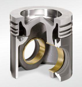 Kolbenschmidt articulated piston