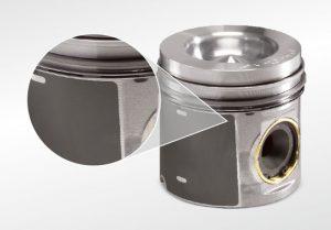 Kolbenschmidt piston with graphite coating