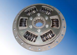 Torque converter - lock-up clutch vibration damper