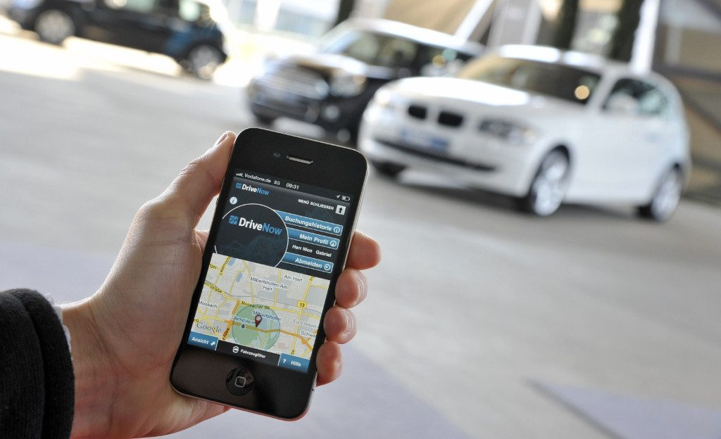 BMW Group Launches Car Sharing Service DriveNow
